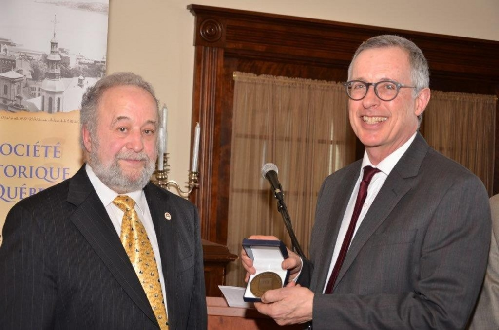 David Mendel - Médaille SHQ